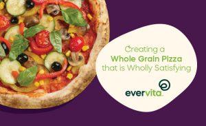 pizza on purple background